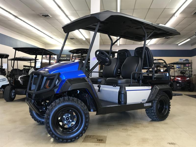 2019 Yamaha Umax Rally 2 + 2 Gas EFI Golf Cart | Golf Carts