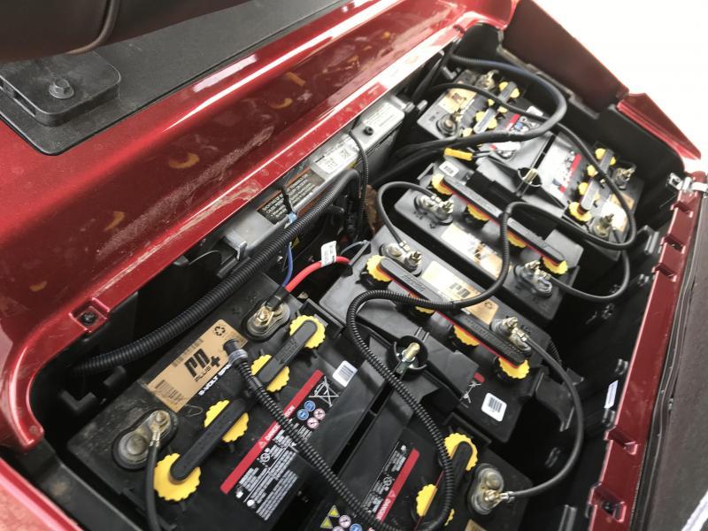 2019 Club Car Onward Electric 4 Passenger Golf Cart