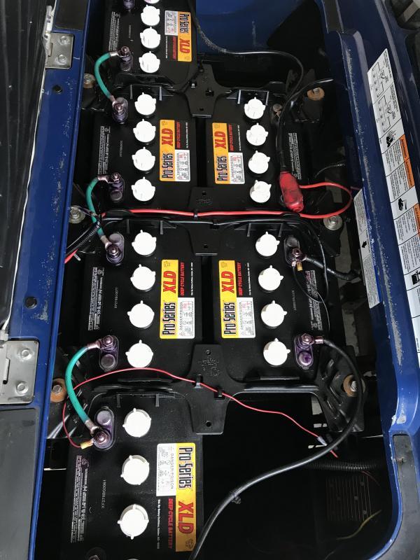 2013 Yamaha Electric 2018 Batteries Golf Cart