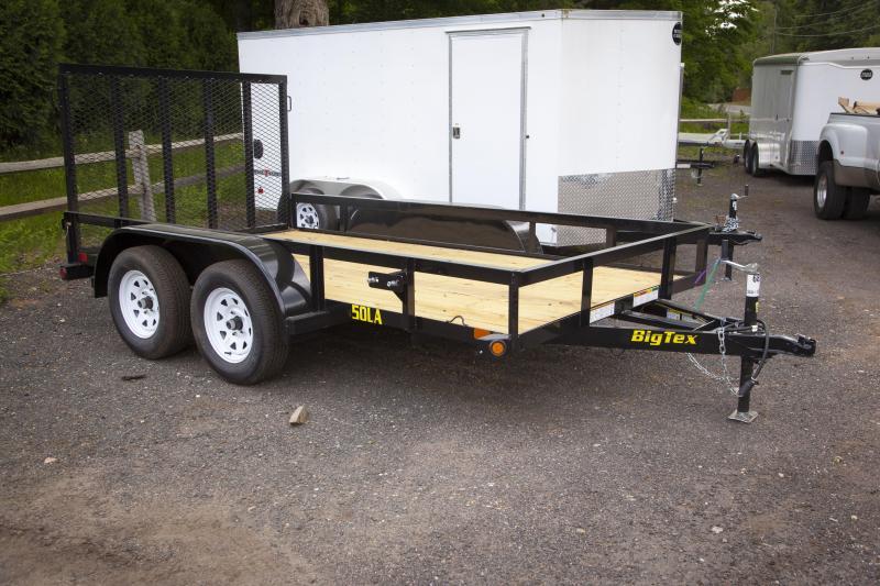 2018 Big Tex Trailers 50LA-12BK4RG Utility Trailer | Near Me