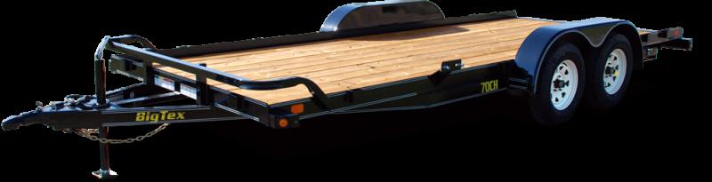 2018 Big Tex Trailers 70CH-18BKDT Car / Racing Trailer