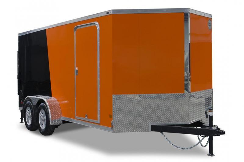 2018 Wells Cargo WCVG716T Cargo / Enclosed Trailer