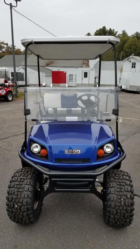 2018 E-Z-Go Express S4 (Gas) Golf Cart