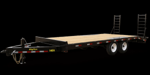 2018 Big Tex Trailers 14OA-213 Equipment Trailer