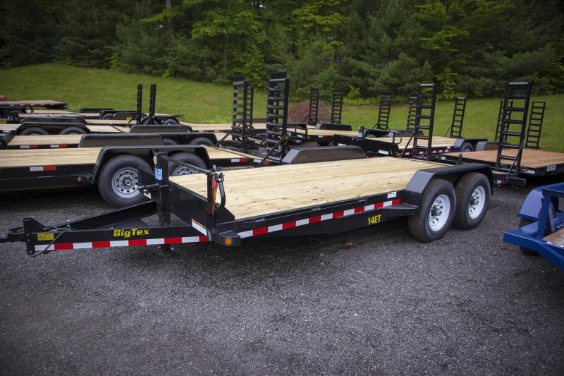 2018 Big Tex Trailers 14ET-18 Equipment Trailer