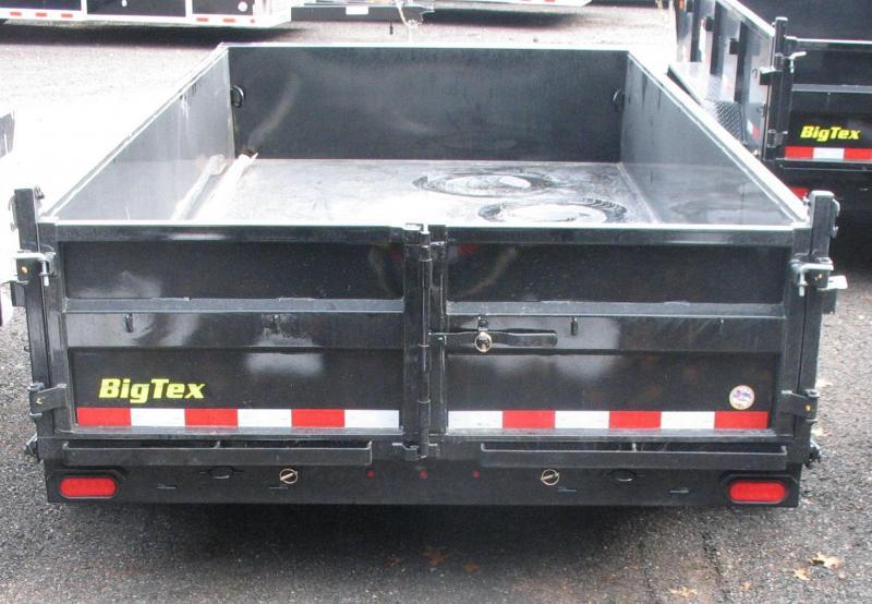 2018 Big Tex Trailers 14LP-14BK7SIRPD Dump Trailer