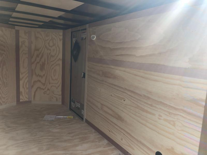 2019 Forest River 6x12SA Silver Blackout Enclosed Cargo Trailer