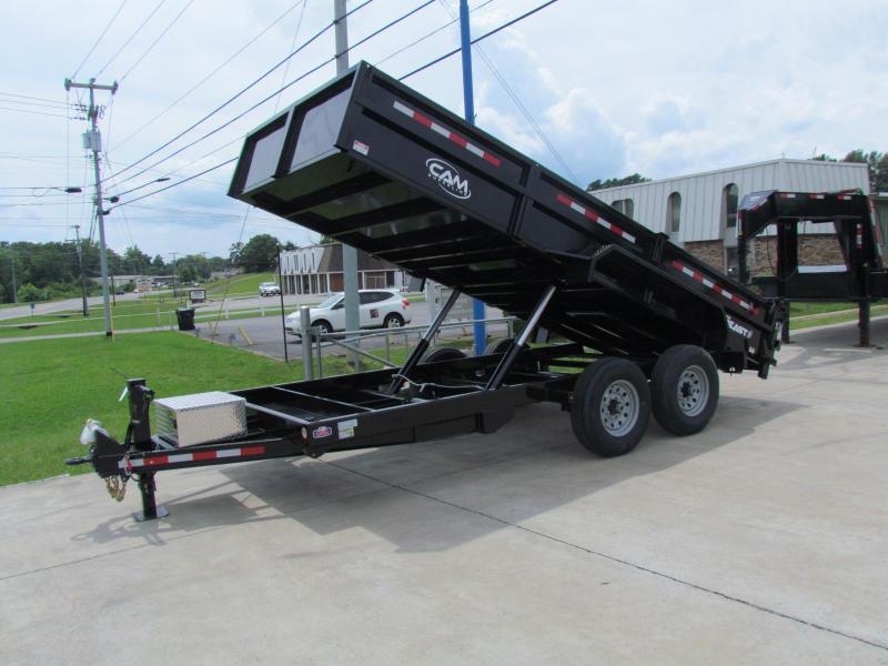 2019 Cam Superline 7X16 7 Ton Low Pro HD Dump Trailer in Ashburn, VA