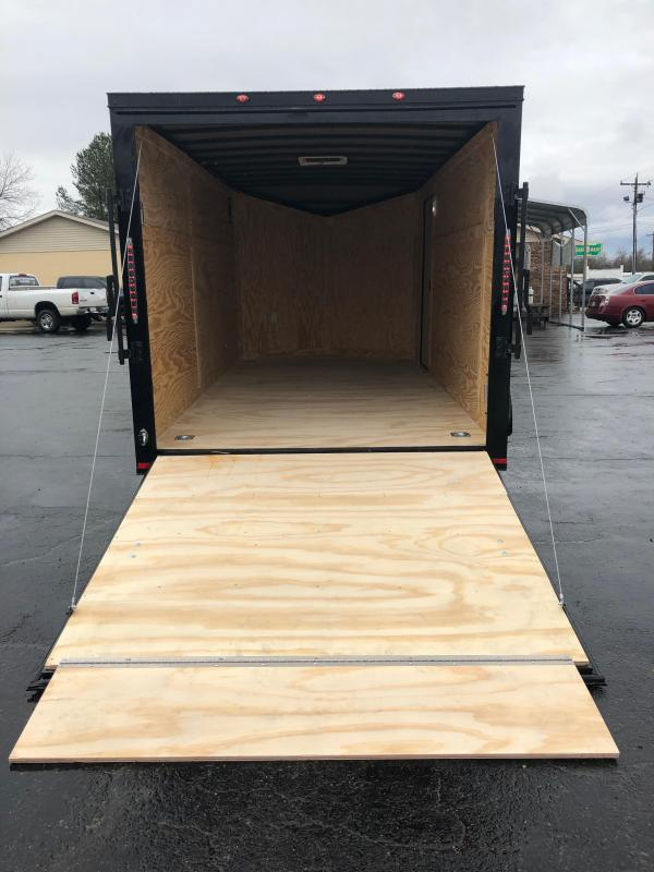 2019 Spartan 7x14TA2 Midnight Edition Enclosed Cargo Trailer