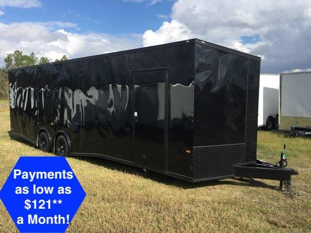 2019 Rock Solid Cargo 8.50x28 Spreadaxle Car / Racing Trailer