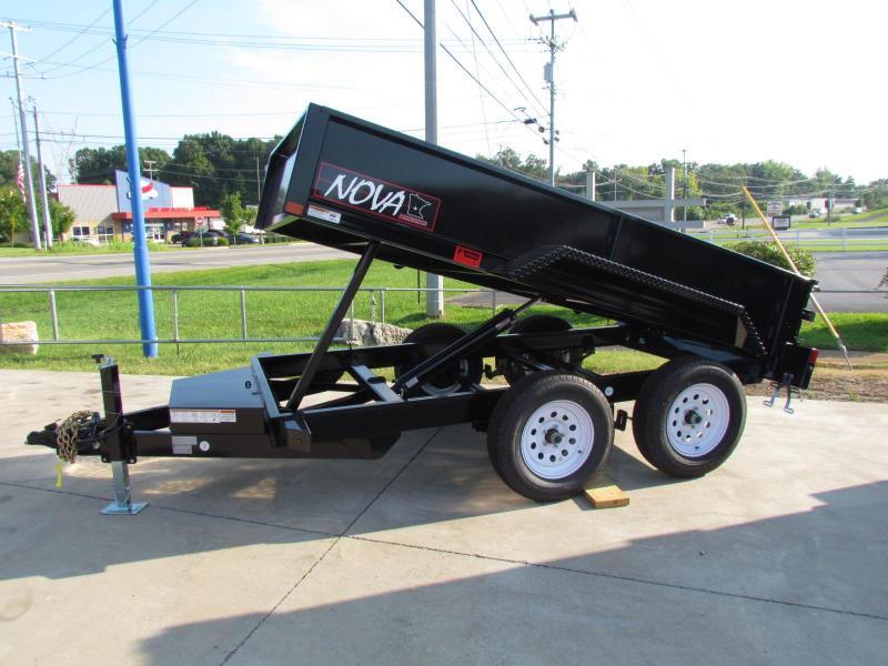 2020 Midsota Nova Series Dump Trailer 5x10TA Dump Trailer