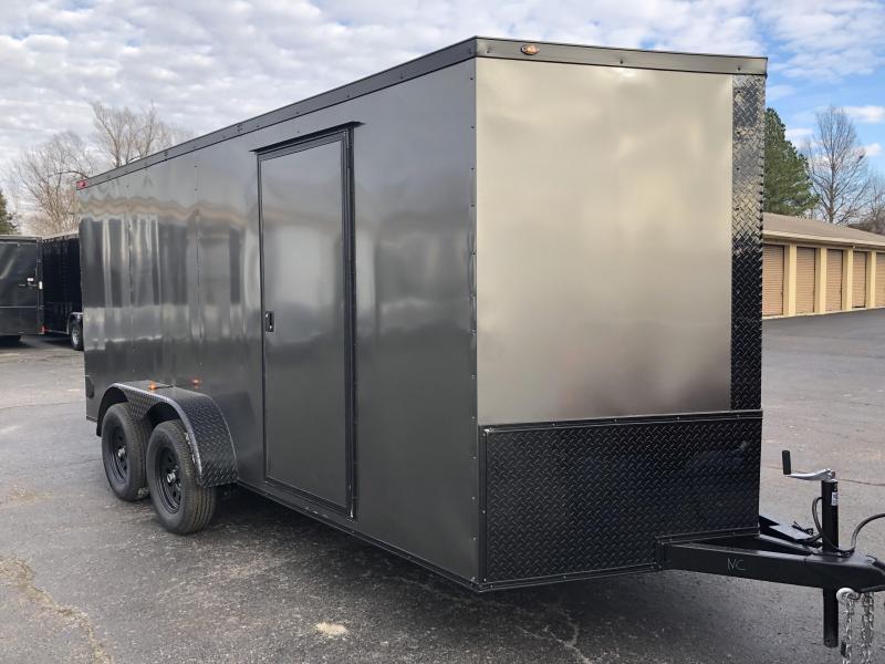 2019 Eagle Trailer 7x16TA Blackout Enclosed Cargo Trailer in Ashburn, VA