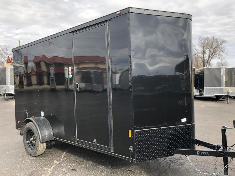 2019 Forest River 6x12 Blackout Enclosed Cargo Trailer