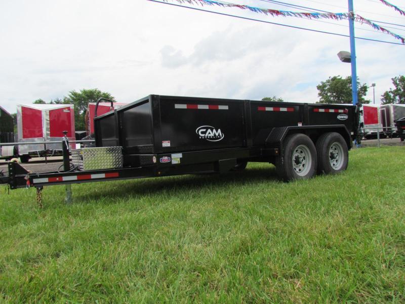 2019 Cam Superline Advantage 7X14 7 TON Dump Trailer in Ashburn, VA