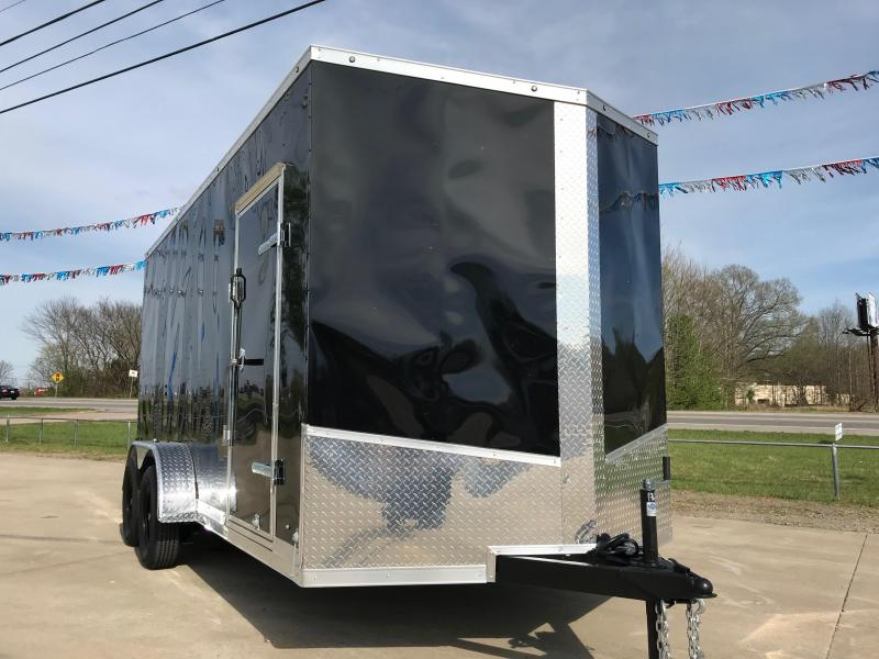 2019 Eagle Trailer 7x16x7 Enclosed Cargo Trailer