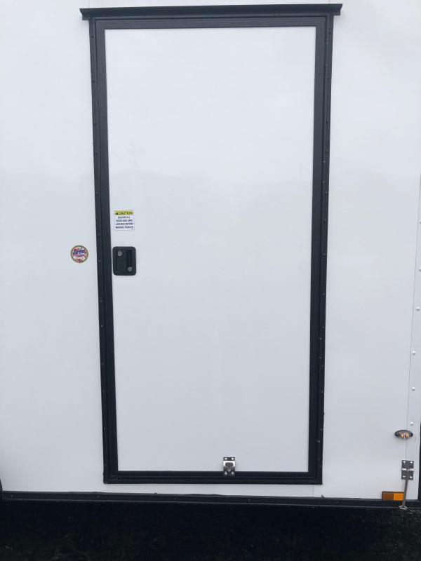 2019 Spartan 7x14TA2 White Blackout Enclosed Cargo Trailer