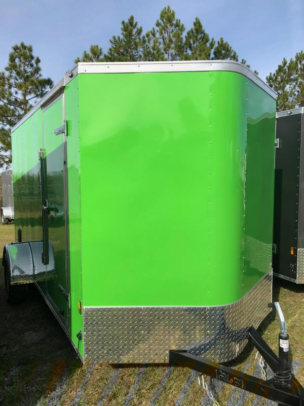 2019 Forest River 6x12SA Enclosed Cargo Trailer