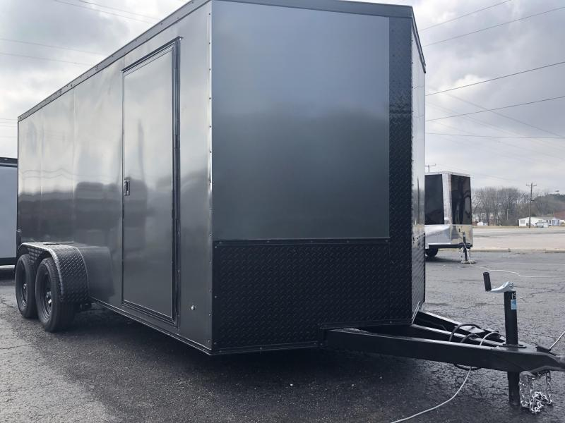 2019 Eagle Trailer 7x16 Blackout Edition Enclosed Cargo Trailer in Ashburn, VA