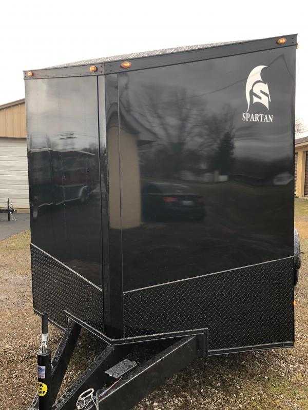 2019 Spartan 7x16TA2 Midnight Edition Enclosed Cargo Trailer