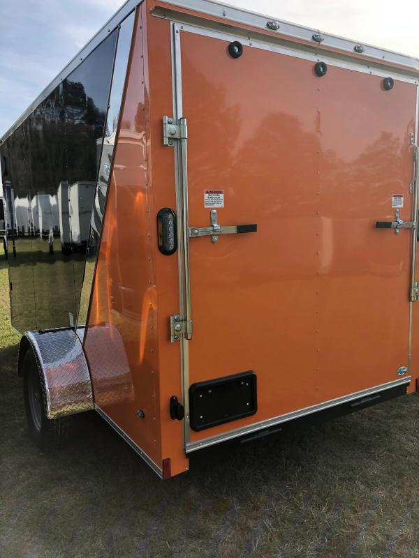 2019 Forest River 6x12 Harley Special Enclosed Cargo Trailer