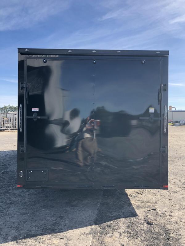 2019 Spartan 8.5x24x7 BLACKOUT Spread axle Car / Racing Trailer
