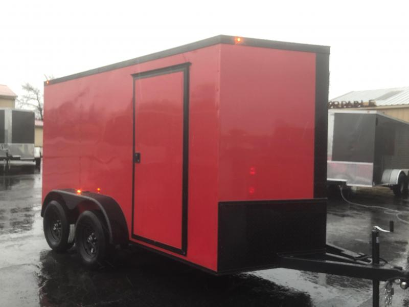 2019 Eagle Trailer 6x12TA Blackout Pkg Enclosed Cargo Trailer in Ashburn, VA