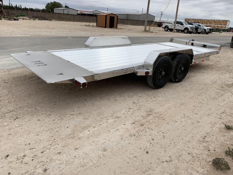 2019 Iron Bull Aluminum Tilt Deck Trailer
