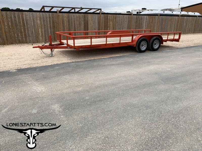 2018 East Texas Utility Trailer