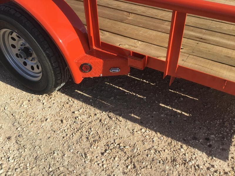 2018 East Texas Bumper Pull Utility Trailer