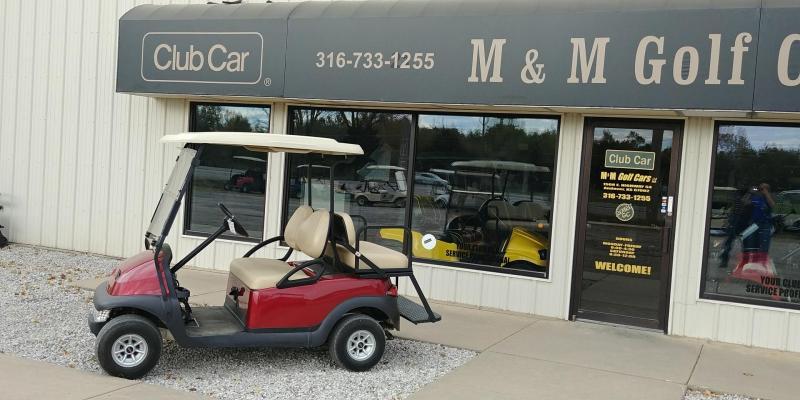 2012 Club Car Precedent 4 Passenger Gas Golf Car