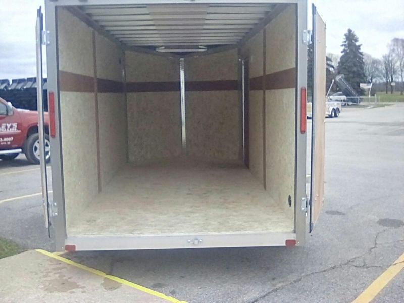 2018 MVM7 7X14 METTLE Enclosed Cargo Trailer