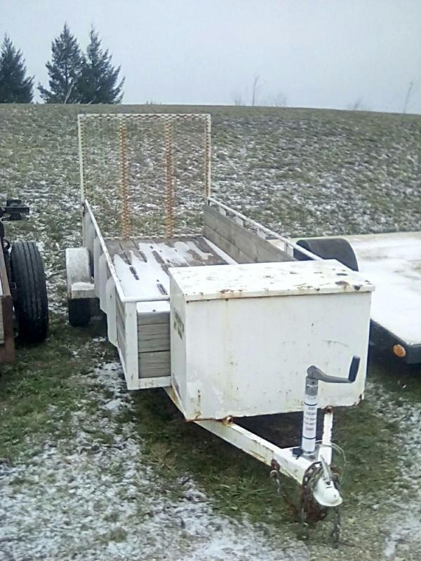2001 Other 4x12 With sides Utility Trailer