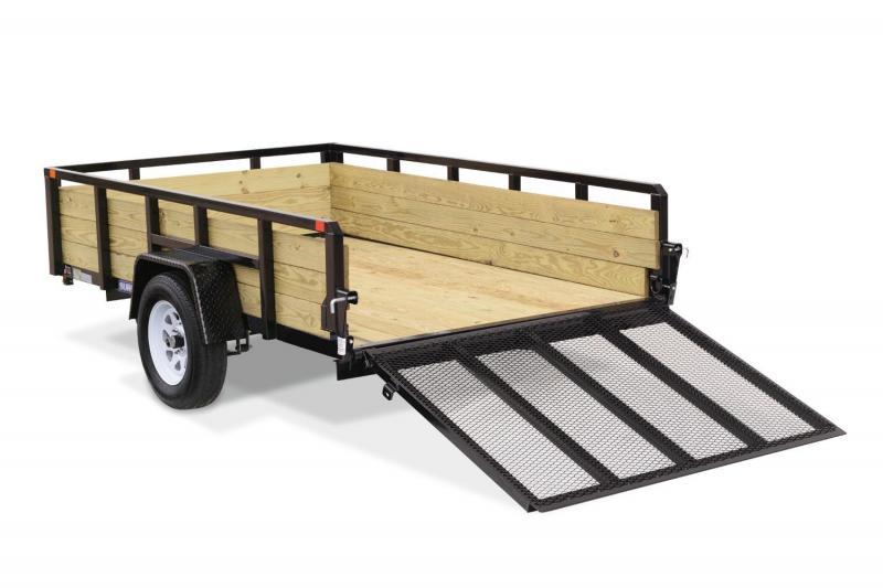 2019 Sure-Trac 6X12 3 Board 3K Utility Trailer