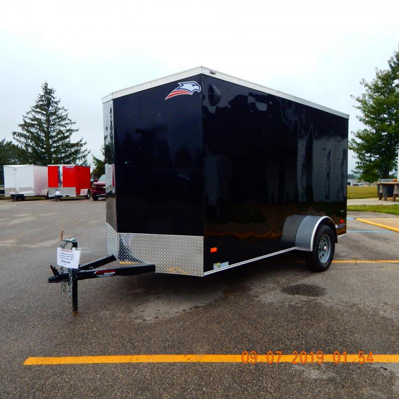 2019 American Hauler Industries 6X12 3K ARROW Enclosed Cargo Trailer