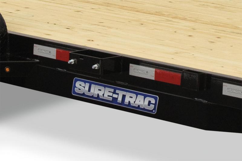 2018 Sure-Trac 7X20 WOOD DECK CAR Car / Racing Trailer