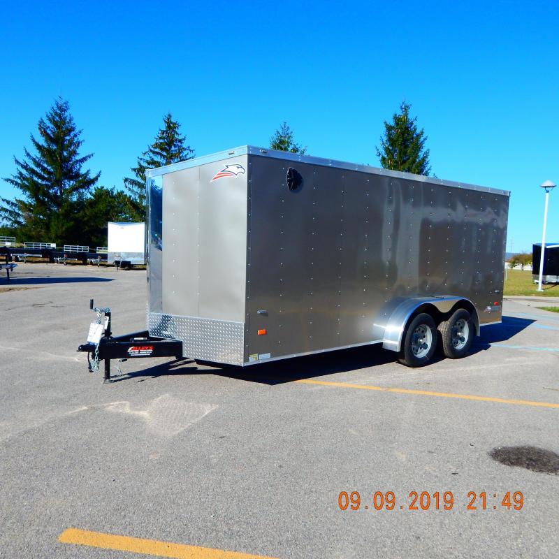 2019 American Hauler Industries 7x16 Arrow 7k Enclosed Cargo Trailer