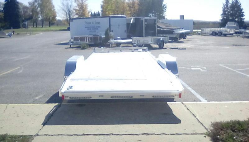 2018 American Hauler Industries 7X20 CAR HAULER Equipment Trailer