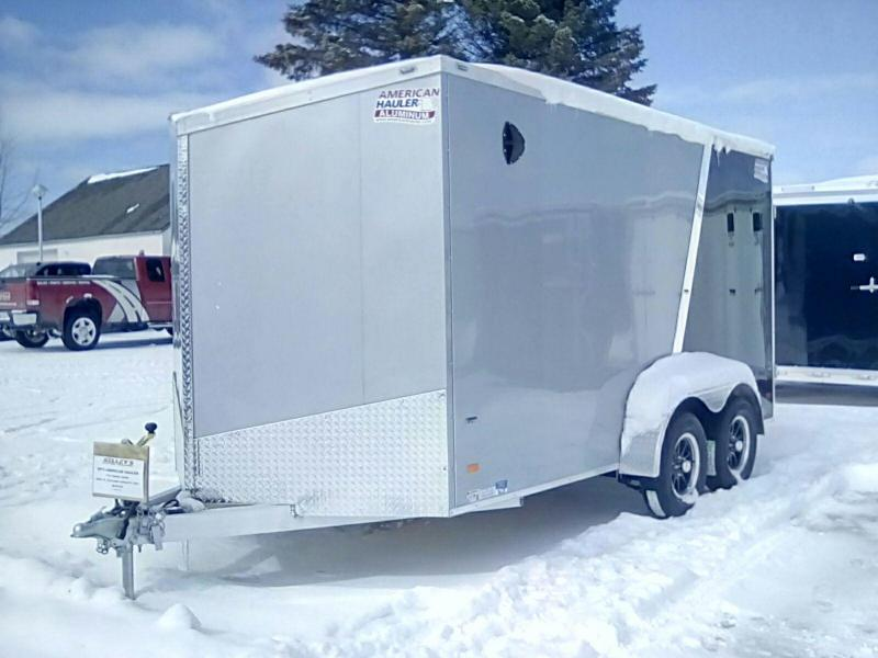2019 American Hauler Industries 7X14 7K Night Hawk Enclosed Cargo Trailer