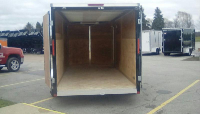 2018 MVM7 7X16 METTLE Enclosed Cargo Trailer