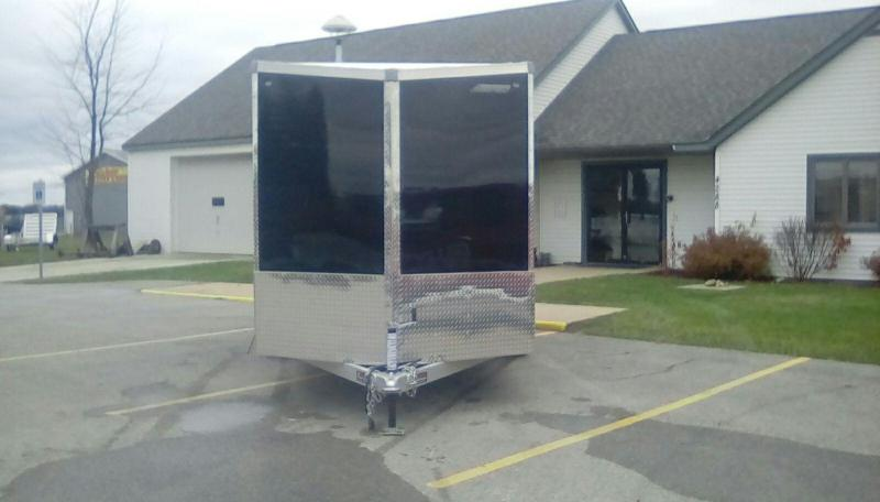2018 MVM7 7X16 METTLE Enclosed Cargo Trailer