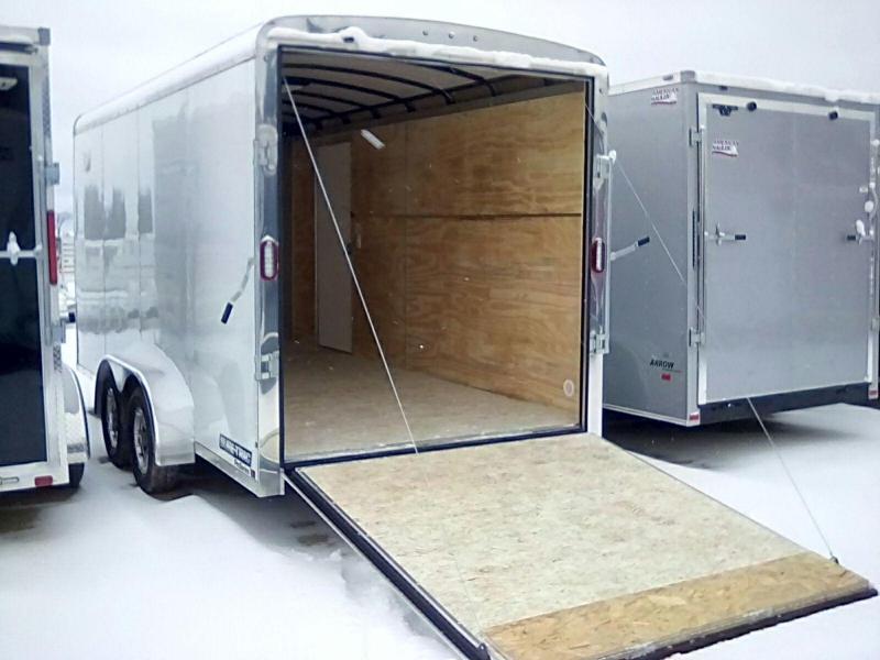 2019 Sure-Trac 7X16 6 interior Pro Series Enclosed Cargo Trailer