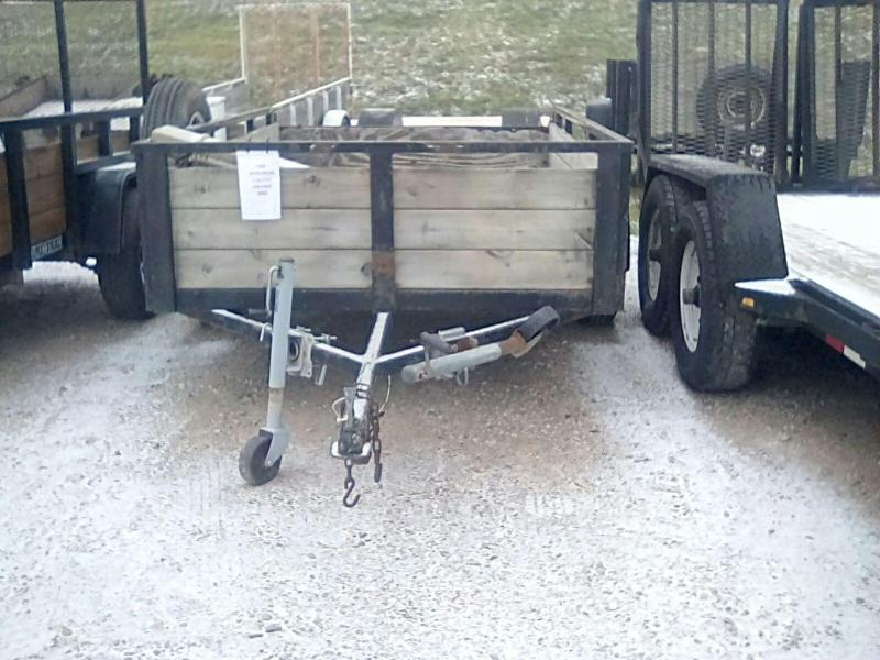 1994 Other 5X8 ASSEMBLED 3 BOARD Utility Trailer