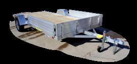 2020 Aluma 7x14 3k Utility Trailer