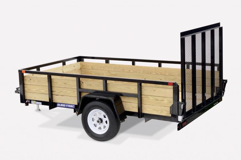 2019 Sure-Trac 7X16 3 BOARD Utility Trailer