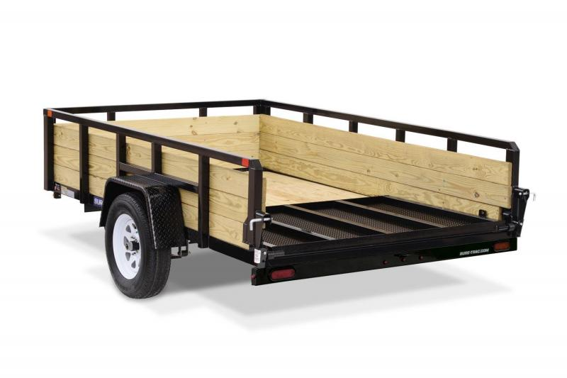 2019 Sure-Trac 7X16 3 BOARD Utility Trailer