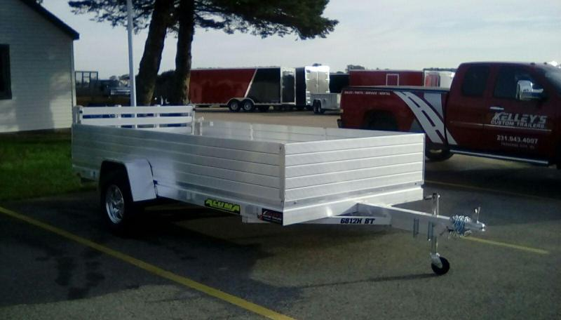 2019 Aluma 5.5X12 Equipment Trailer
