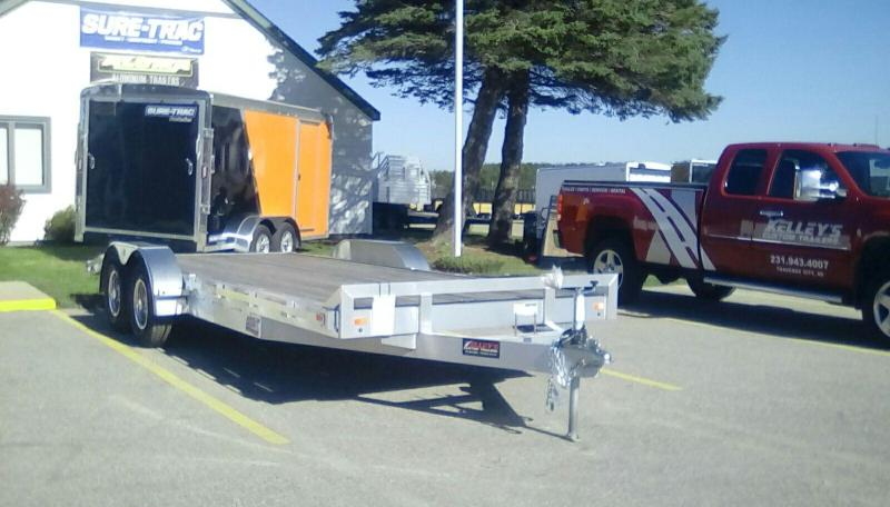 2018 Aluminum Trailer Company 7X20 CAR HAULER Equipment Trailer