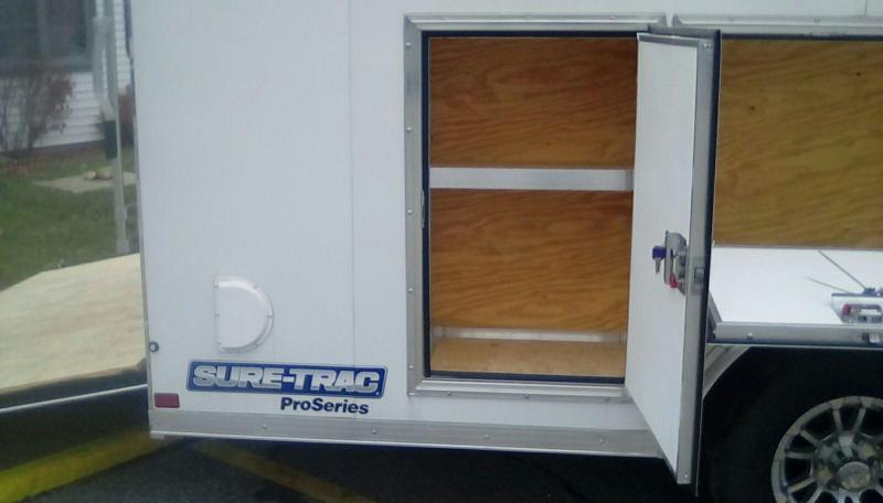 2018 Sure-Trac 8.5 x 18 Contractor Pro BN Cargo TA 10K