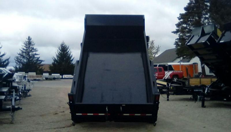 2019 Sure-Trac 82 IN X 12 LProfile 14K Scissor Dump
