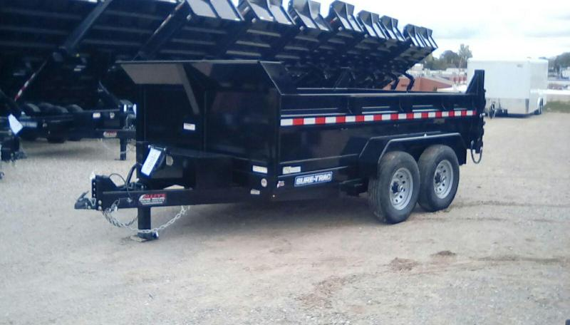 2019 Sure-Trac 82 IN X 12 LProfile 14K Scissor Dump